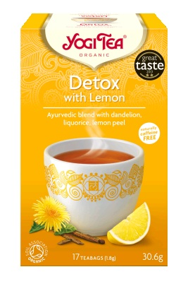 Detox with Lemon pussitee - PUSSITEET - 4012824529540 - 3