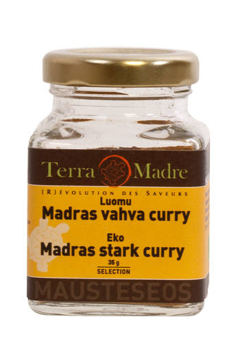 Madras curry - vahva - MAUSTEET - 3760162880533 - 1