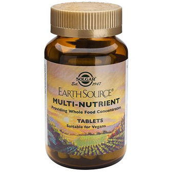 Solgar Earth Source Multinutrients - RAVINTOLISÄT - 033984010284 - 1