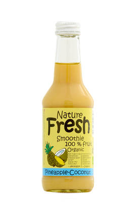 Nature Fresh PineappleCoconut smoothie - MEHUT & SMOOTHIET - 5708636220728